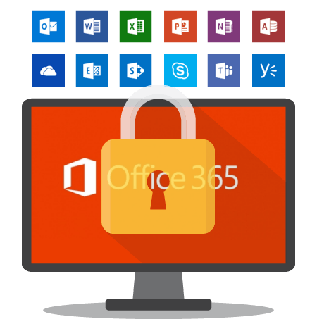 Office 365 Security and Protection imagery.