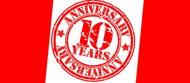 10 years: What a party!