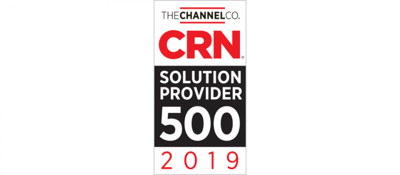 IT Weapons Recognized on CRN's 2019 Solution Provider 500 List