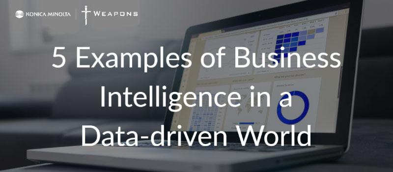 5 exemples de Business Intelligence dans un monde axé sur les données