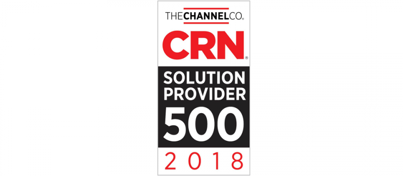 IT Weapons Named to CRN's 2018 Solution Provider 500 List