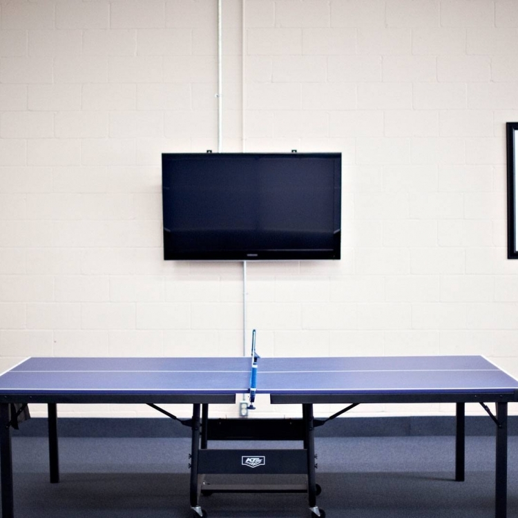 Salle de jeu Ping Pong