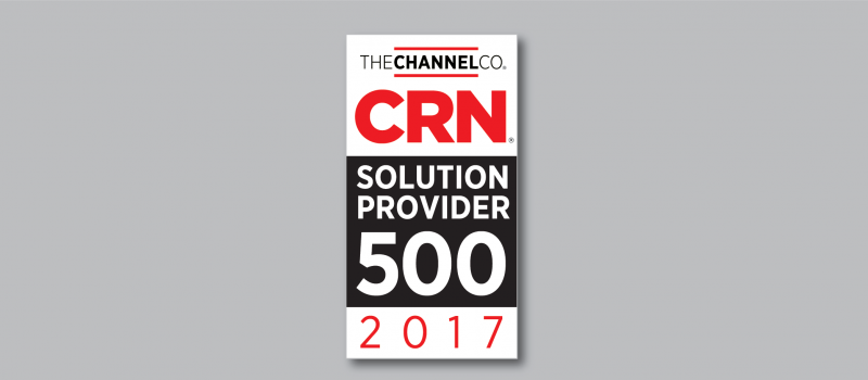 IT Weapons Named to 2017 Solution Provider 500 List