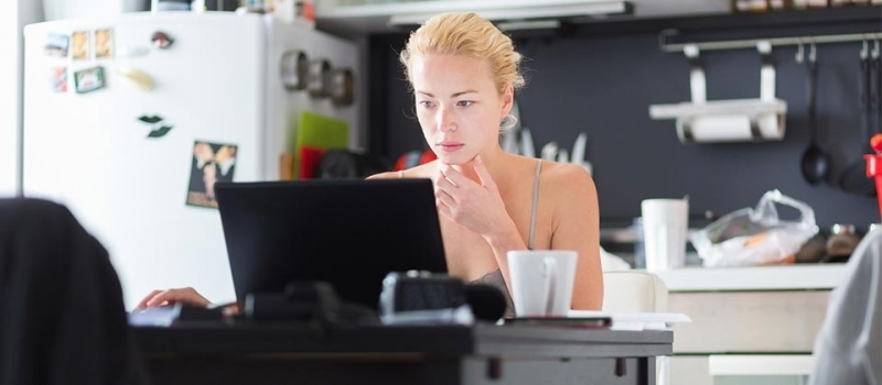 Work from Home: Encouraging vs. Enabling