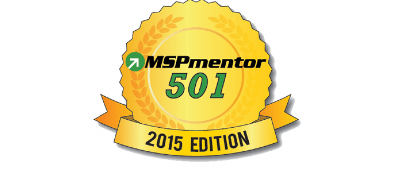 IT Weapons Ranks in the top 100 of MSPmentor 501 List for 2015