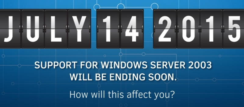 When the Good Go Bad: End of Support Approaching for Windows Server 2003