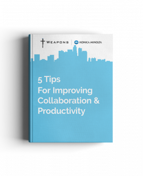 eBook: 5 Tips for Improving Collaboration and Productivity