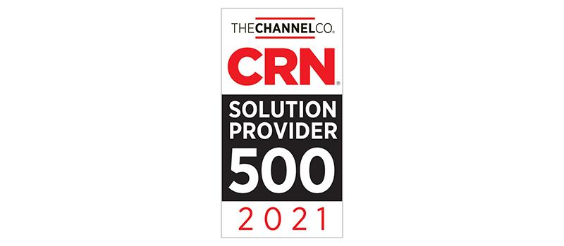 Les armes informatiques figurent sur la liste des fournisseurs de solutions 2021 de CRN 500