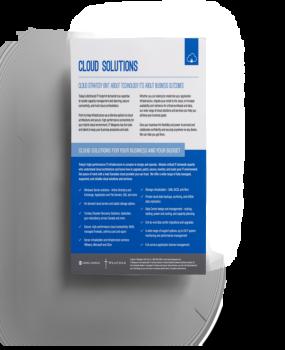 Brochure: <br/> Cloud Solutions