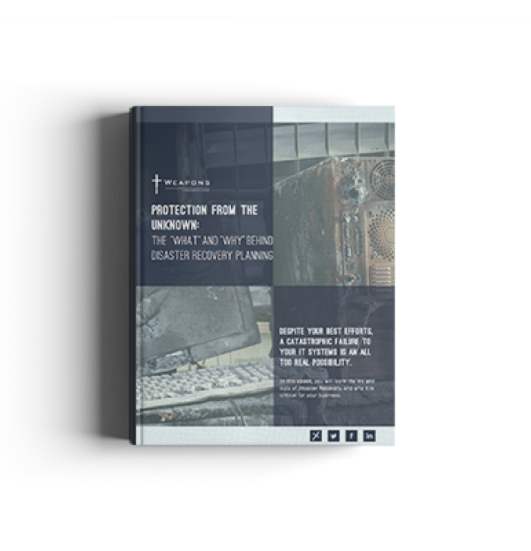 eBook: What You Need to Know About Disaster Recovery Planning
