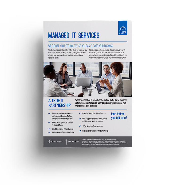 Brochure: <br/> Managed IT Services