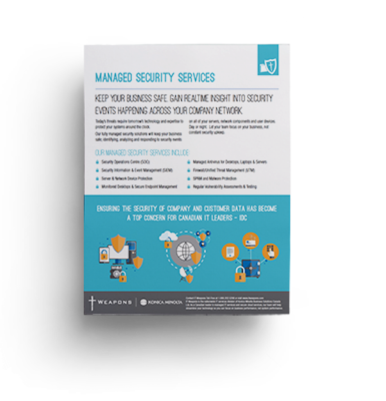 Brochure: <br/> Managed Security
