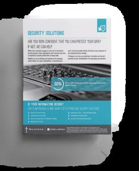 Brochure: <br/> Security