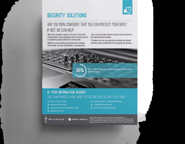 Brochure:  Sécurité