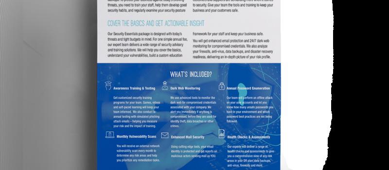 Brochure: <br/> Security Essentials