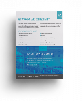 Brochure: <br/> Networking and Connectivity